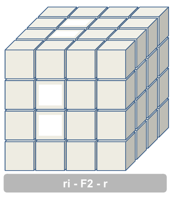 4x4 kubus middenblokjes 1