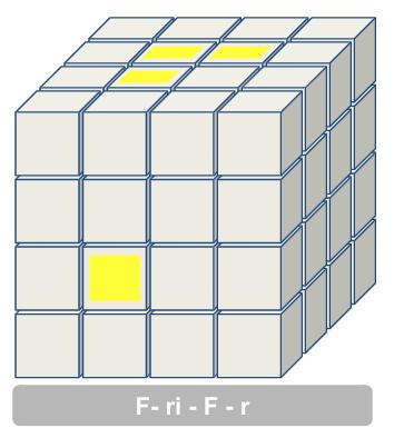 4x4 middenblokjes