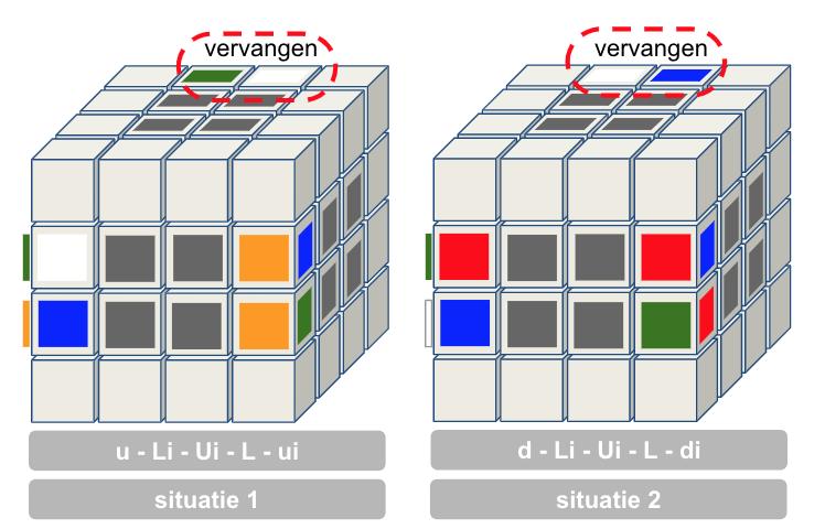 4x4 oplossen randstukjes