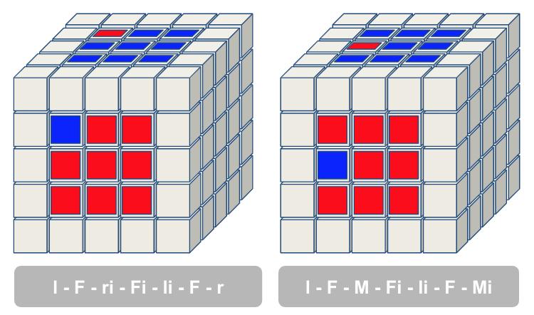 5x5 kubus stap 2