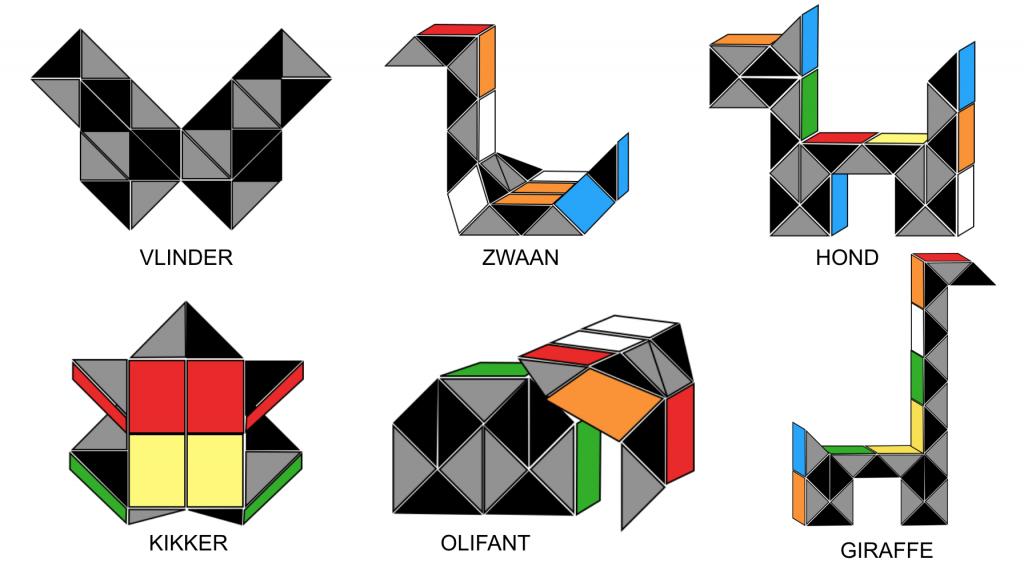 Rubiks-slag-6-dierenfiguren