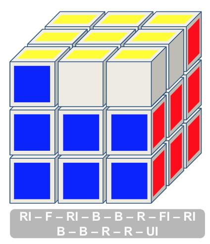 3x3 kubus stap 6