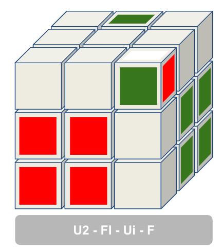 F2L situatie 1