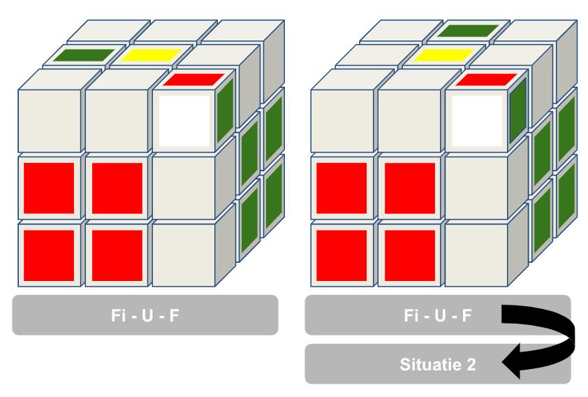 F2L situatie 3