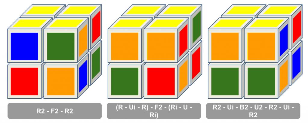 Ortega 2x2 rubiks kubus