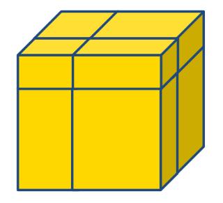 2x2 mirror kubus