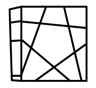 Floppy Ghost cube tekening