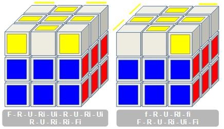 OLL Rubiks kubus 2