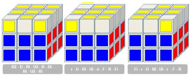OLL rubiks kubus 3